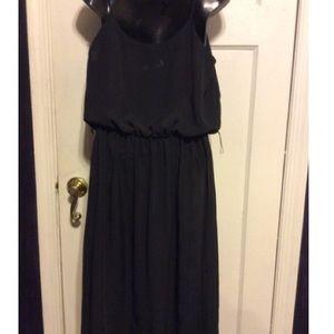 Alison Peters Dresses - Alison Peters Vintage Black Sheer Dress